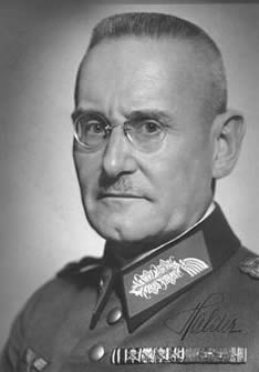 German General Franz Halder